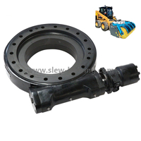 Hot sale Promotion Stock Slewing drive SE9 with hydraulic motor for Snow sweeper