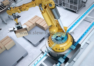 Non-gear Long Life Slewing Ring Bearing Same As RKS for Robotic Manipulator Palletizer