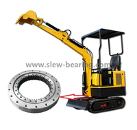 High Quality Single Row Four Point Contact Ball Internal Gear For Excavator