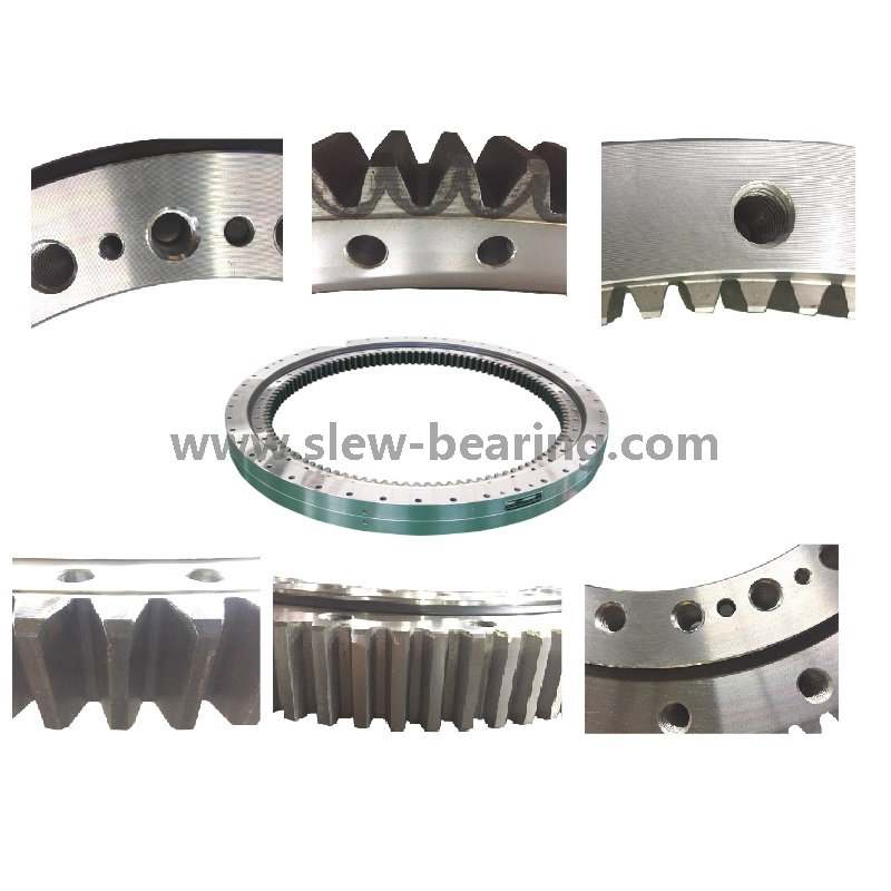Swing Bearing with High Quality Tooth Quenching And Anti Corrosion with Work under Saulty Fog, Competitive Price in Stock