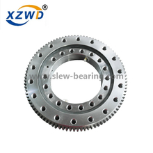 Internal hardened gear single row ball slewing bearing for Excavator