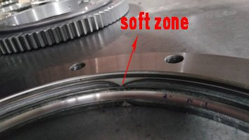 slewing bearing soft zone
