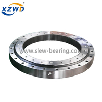 Light Weight Pedestal Crane Slew Ring Replacement Slewing Bearing Without Gear