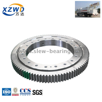 Single Row Ball External Gear Slewing Bearing for Mist Cannon Truck