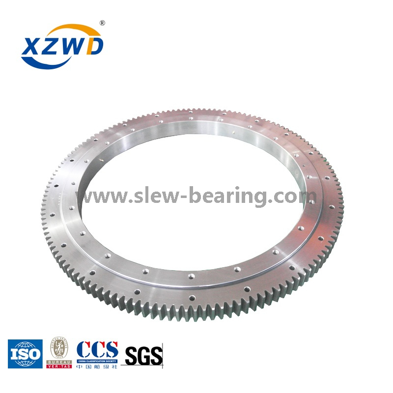 Large Diameter Yaw Extra Light Lightweight Slewing Ring Bearing for Tower Crane
