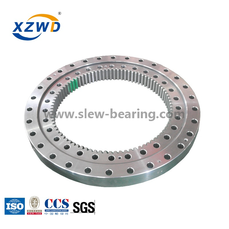 4 Point Angular Contact Ball Geared Swing Bearing for