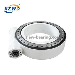 Xuzhou Wanda high qulity precision enclosed housing big slewing drive SE25 with hydraulic motor for heavy machine