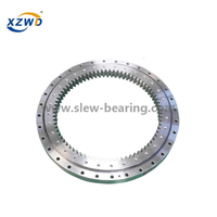 Light Weight Four Point Contact Ball Slewing Bearing with External Gear