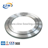 European standard ball slewing bearing with external gear for Material Handlers