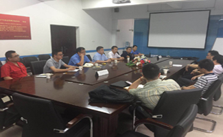 Leaders of China University of Mining and Technology visited our company to negotiate Production and Research Cooperation