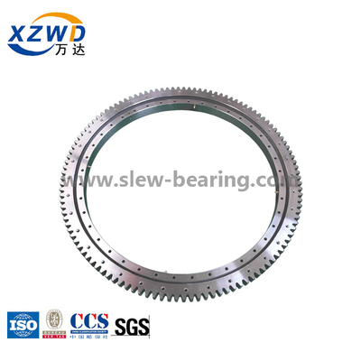 External Gear Light Type slewing ring grinding teeth Xuzhou Wanda ISO Certificated