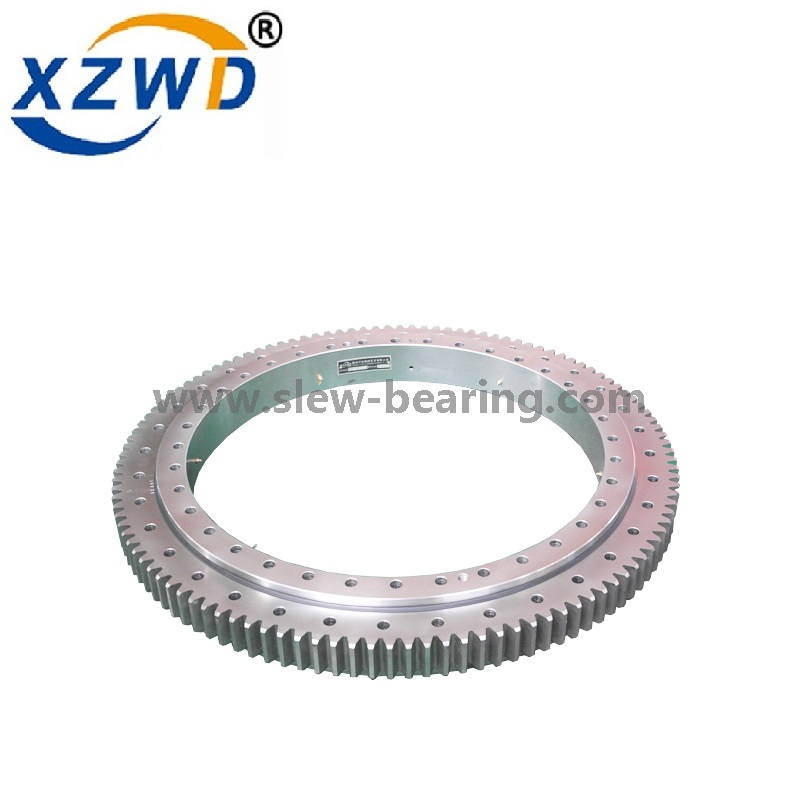 XZWD application for slewing bearing in CNC vertical lathe