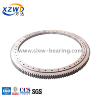 External Gear 4 Point Contact Ball Slewing Ring for Car Parking System