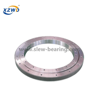 Middle Size Four Point Contact Ball Slewing Ring Bearing For Warehouse Stock Picker