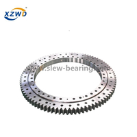 Large Diameter Single Row Ball Polymer Slewing Bearing with External Gear for Truck crane