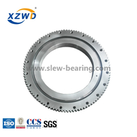 4 Point Angular Ball Bearing with Deformable Rings for Crane