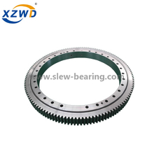 High Precision Turntable Slewing Ring Bearing without Gear for Rotating Machinery