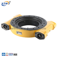 Chinese Hot sale dual worm enclosed housing slewing driver