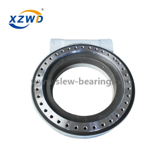 China Wanda machinery use mechanical part heavy duty slewing drive WEA21 with hydraulic motor
