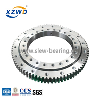Single Row Four Point Contact Ball Slewing Ring Bearings 011.20.544 For Crane
