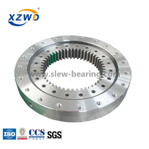 High Precision Single Row Ball Yaw Slewing Ring Bearing with Internal Gear