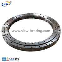 Excavator Used Slewing Bearing for Rotate Single Row Or Double Row Ball Contact Slewing Bearing