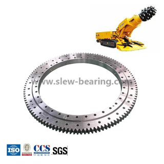 Large Diameter Bearings Three Row Roller Slewing Ring Bearing for tunnel boring machines