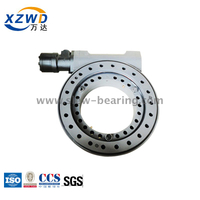 Xuzhou Wanda stock goods Single axis Enclosed housing SE Series slewing drive with hydraulic motor for tilting rotator
