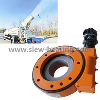 Welding robot use enclosed worm gear SE9 Slewing drive with hydraulic motor price