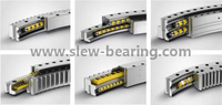 Light Type Thin Section External Gear Slewing Turntable Bearing for Canning Machinery