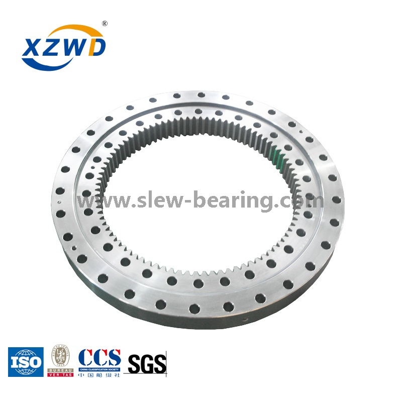 4 Point Angular Contact Ball Geared Swing Bearing for Excavator