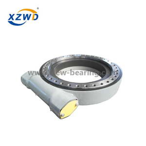 High Quality China Xuzhou Wanda SE9 with 24V DC Motor Slewing Drive for Solar Tracking System
