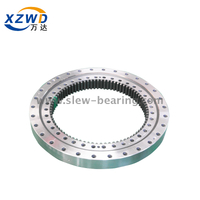 Four Point Angular Contact Geared Ball Slewing Ring Bearing for tower crane