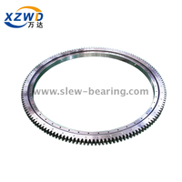 Light Type External Gear Single Row Ball Slewing Ring Bearing
