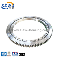 China high quality Light Type Geared 4 point contact Ball Slewing Bearing replacment ISB slewing ring