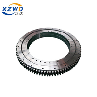 Tower Crane Three Row Roller Slewing Bearing with External Gear low MOQ