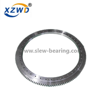 External gear Single Row Ball quality slewing bearings for wastewater treatment