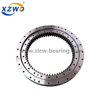 High Quality Small Size Diameter Single Row Ball External Gear Slewing Ring Bearing for Rotating Machinery